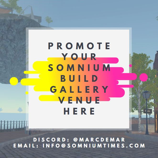 advertise your somnium space build on somnium times