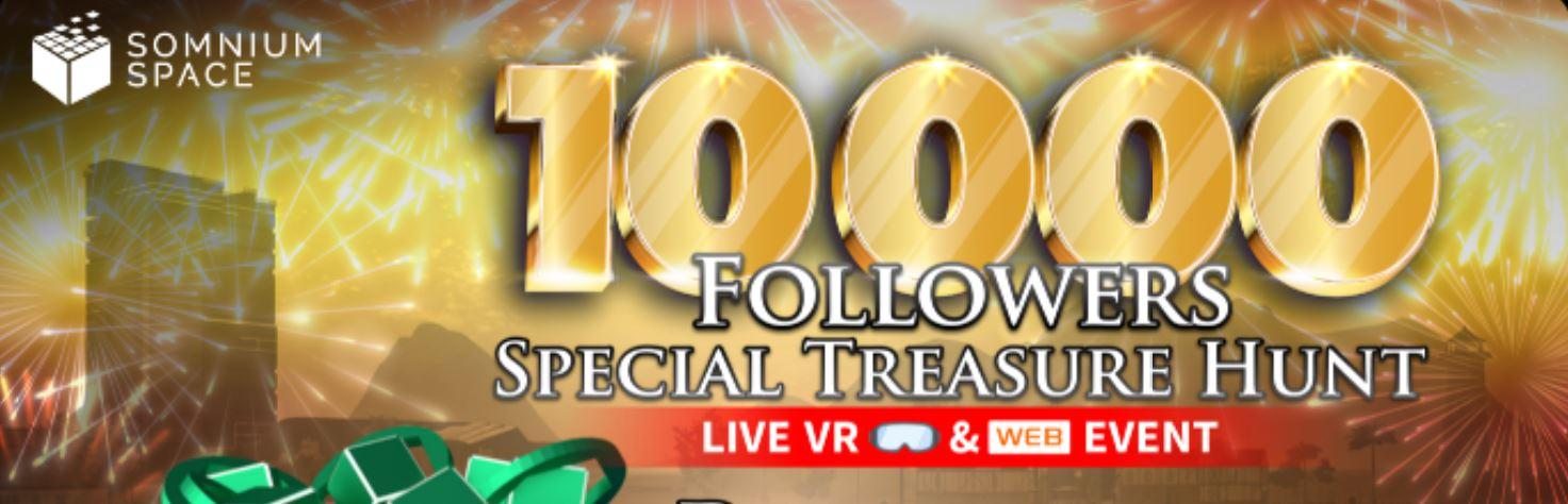 BREAKING: Amazing $10.000 VR & Web Treasure Hunt!