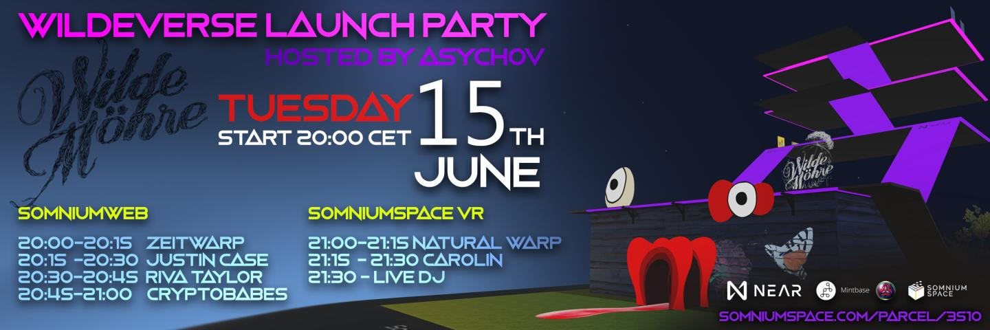 Wildeverse Launch Party: Where the Physical Meets the Virtual